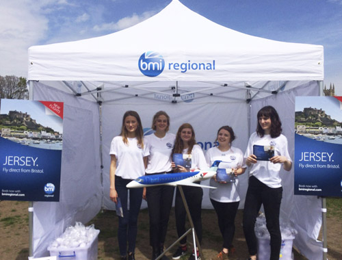 BMI Regional Bath Promo Event Staff Promotional Staffing Agency Varii 0