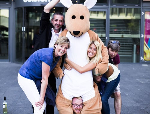 Leeds Mascot Costume Staff UK Nationwide Promotion Event Staffing Agency Varii