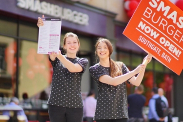 London Promotional Staff at Smashburger from Varii the Leading Promotional Agency in London