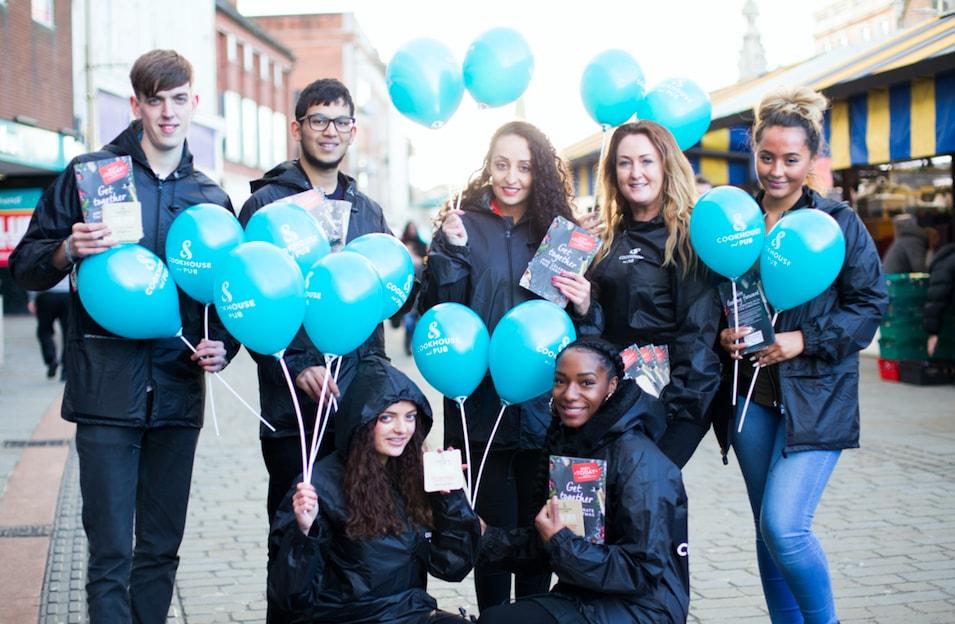 Glasgow Promotional Staff from Varii Promotional Agency the leading Glasgow Promo Staff Agency